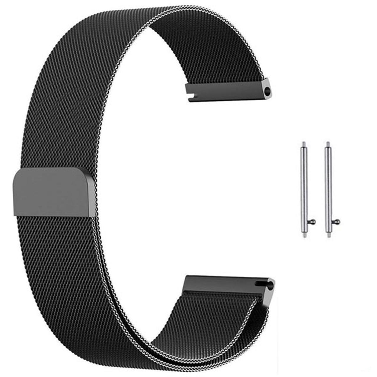بند مدل Milanese به همراه کیف نگهداری ساعت مناسب برای ساعت ایسوس Zenwatch 2 WI502Q