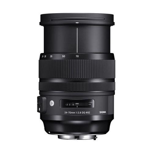لنز سیگما مدل Art 24-70mm f/2.8 DG OS HSM مناسب برای دوربین کانن