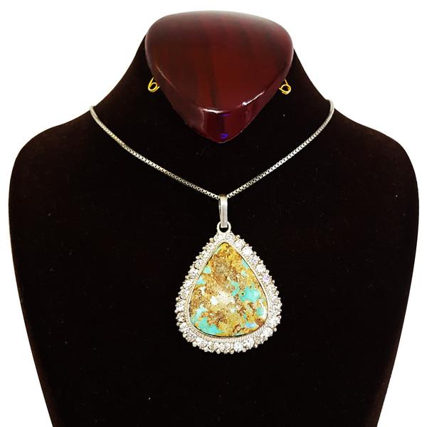 گردنبند نقره زنانه گالری احد کد 10114