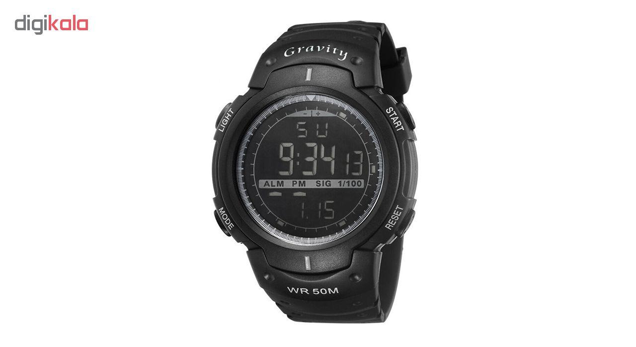 خرید ساعت مچی دیجیتال مردانه گراویتی مدل VG9007