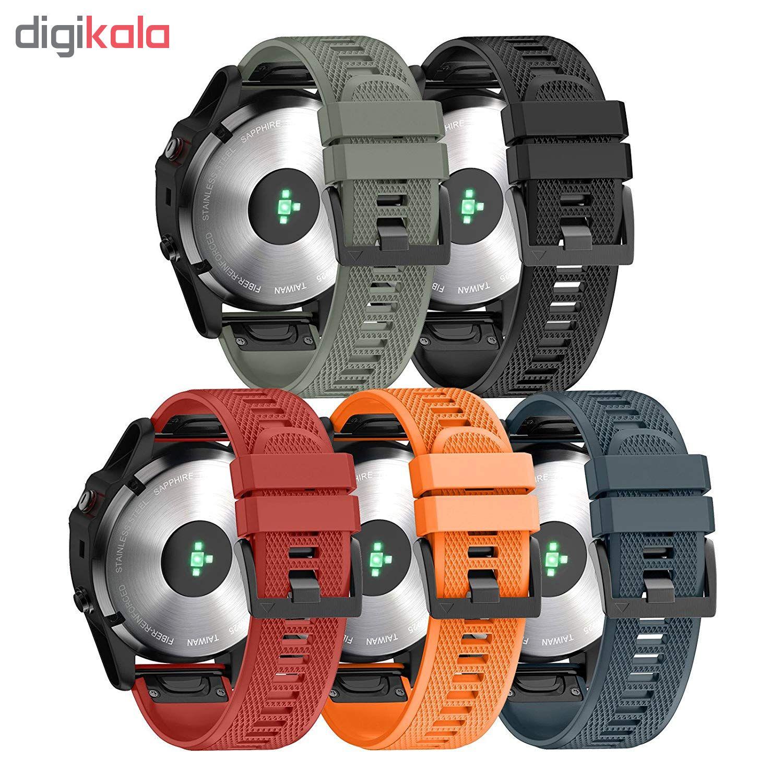 بند ساعت هوشمند مدل f5 مناسب برای گارمین fenix 5