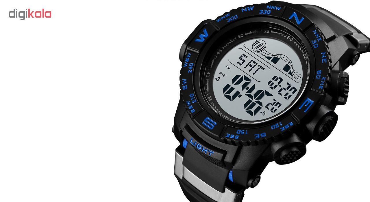 کد تخفیف                                      ساعت مچی دیجیتال مردانه اسکمی مدل 1380A