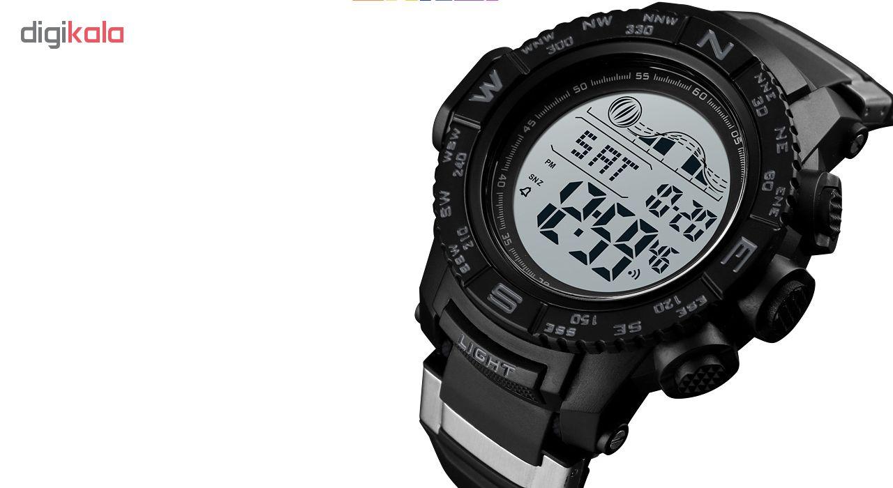 خرید ساعت مچی دیجیتال مردانه اسکمی مدل 1380M
