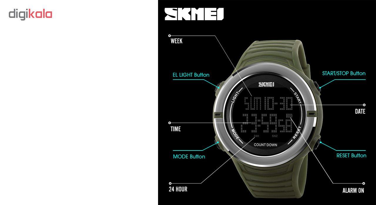ساعت مچی دیجیتال مردانه اسکمی مدل 1209G