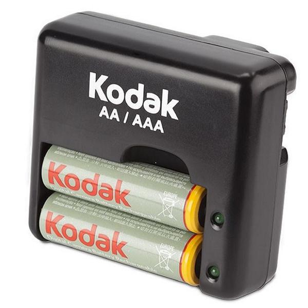 شارژر باتری کداک مدل K640-C به همراه 2 عدد باتری قابل شارژ