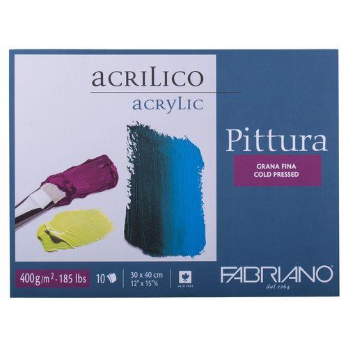 دفتر نقاشی رنگ اکریلیک فابریانو مدل Pittura