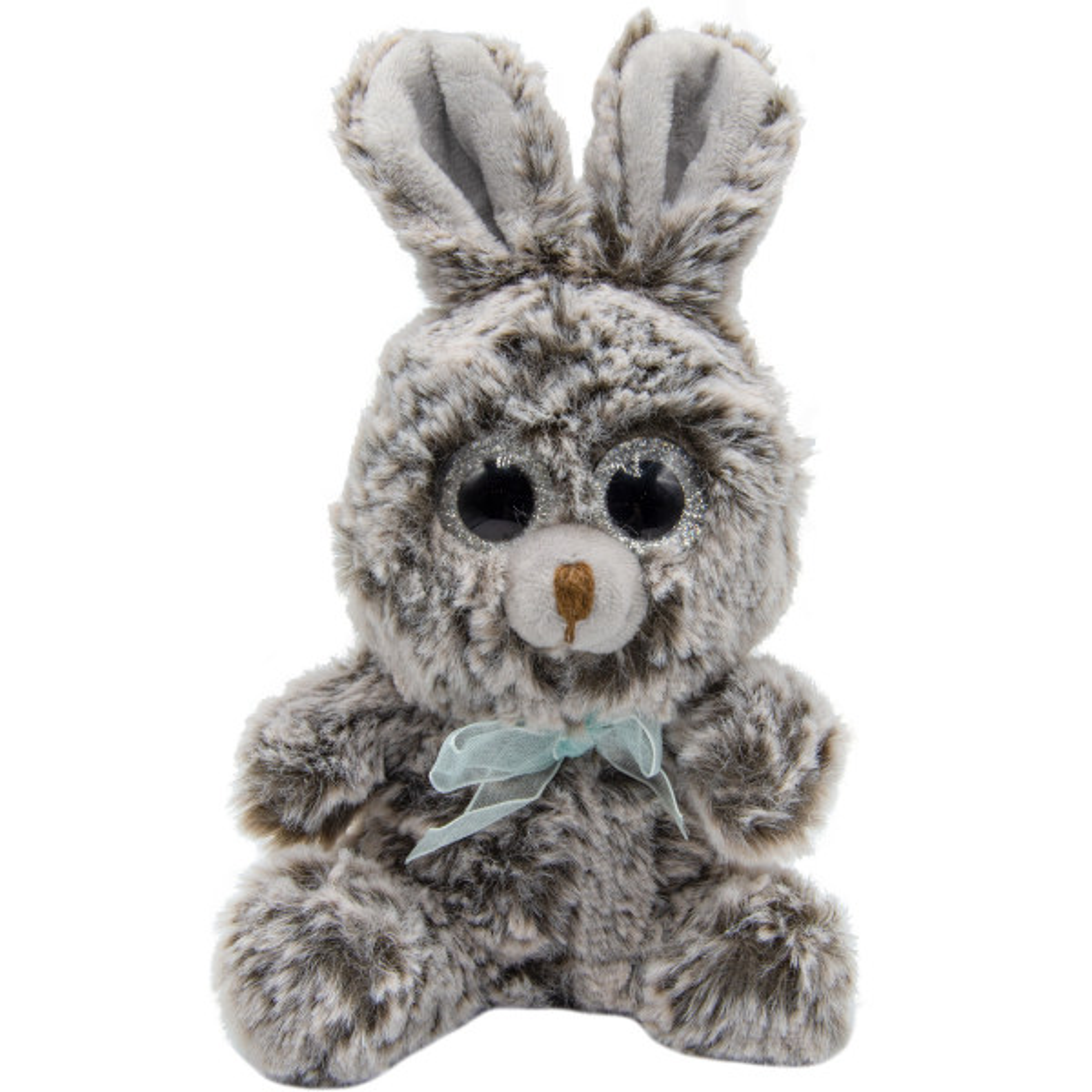 عروسک بی جی دالز طرح خرگوش چشم تیله ای ارتفاع 18 سانتی متر