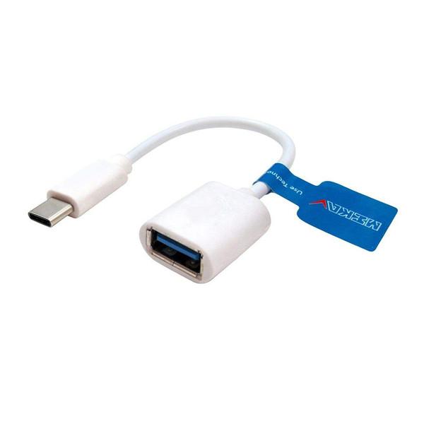 کابل تبدیل USB-C به OTG مکا مدل MC34 طول 0.17 متر