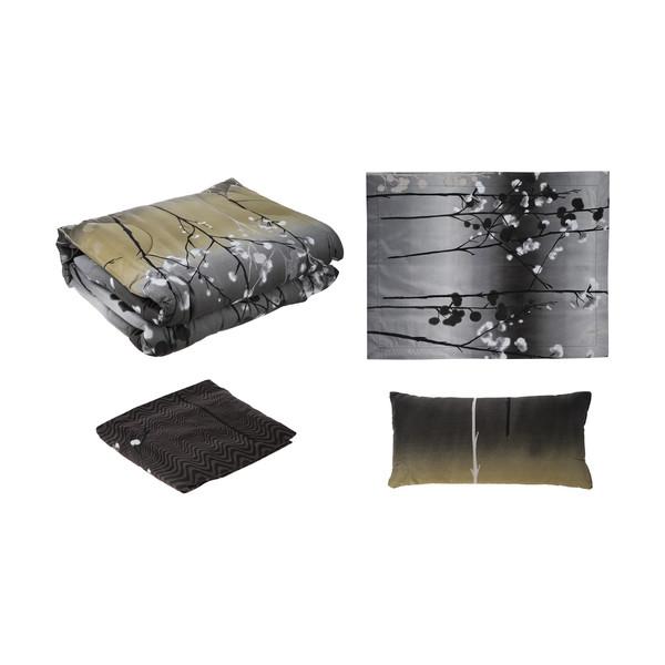 سرویس خواب فرش مریم مدل Golpanbeh یک نفره 4 تکه