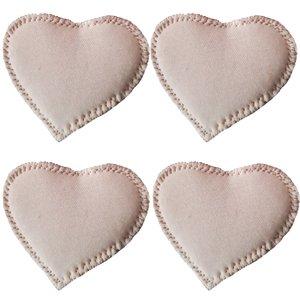پد سینه (شیردهی) قابل شستشو مدل Haiaho Heart  بسته 4 عددی