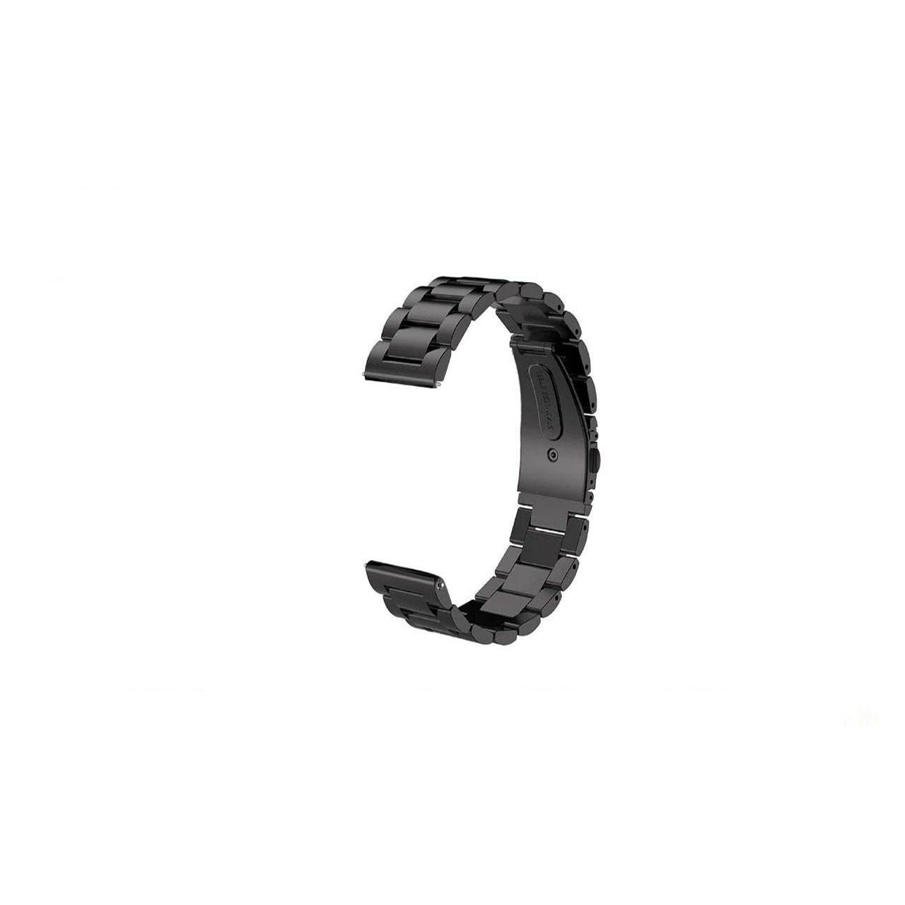 بند ساعت هوشمند مدل Three Pointer به همراه کیف نگهداری ساعت  مناسب برای ساعت ایسوس  Zenwatch 2 WI501Q
