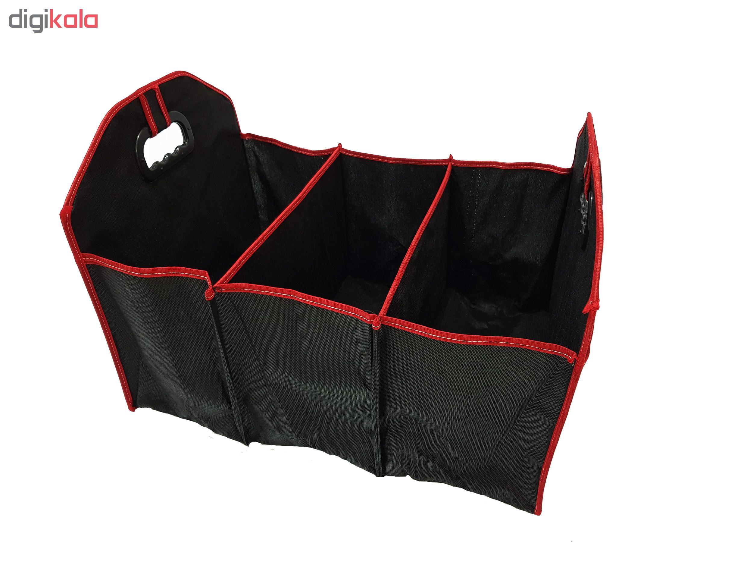 باکس صندوق عقب خودرو با نوار قرمز مدل R-220
