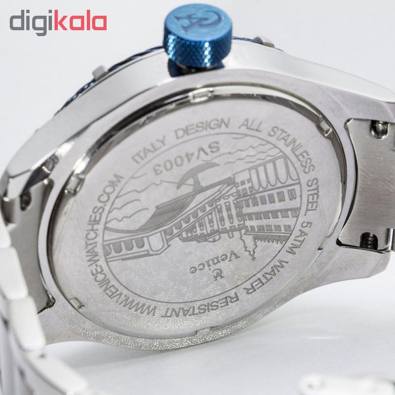 ساعت مچی عقربه ای مردانه ونیز مدل SV4003