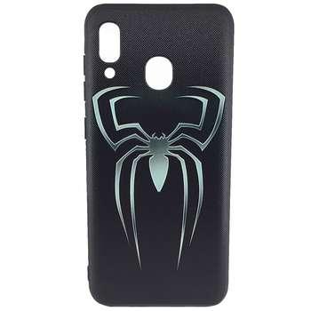 کاور طرح عنکبوت مدل A0565  مناسب برای گوشی موبایل سامسونگ Galaxy M20 2019