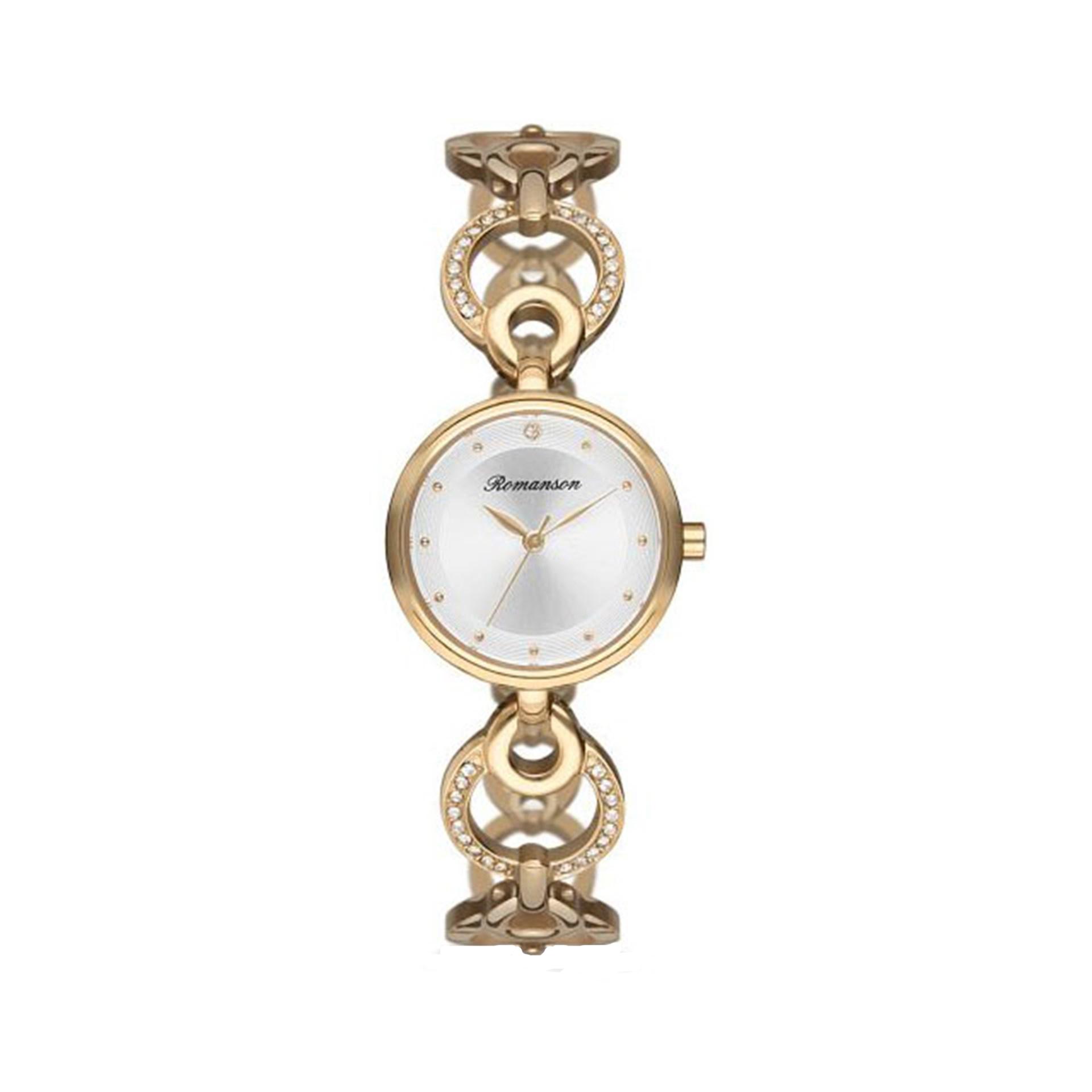 ساعت مچی عقربه ای زنانه رومانسون مدل RM8A32TLGGA11G