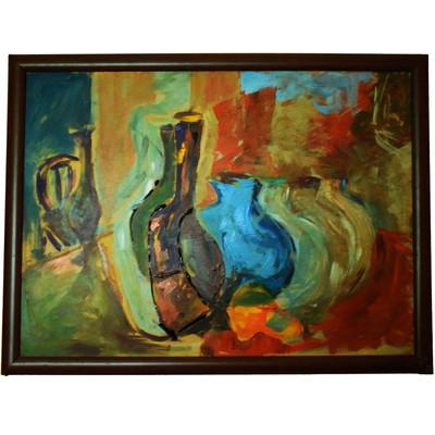 Photo of تابلو نقاشی طرح کوزه کد 2459