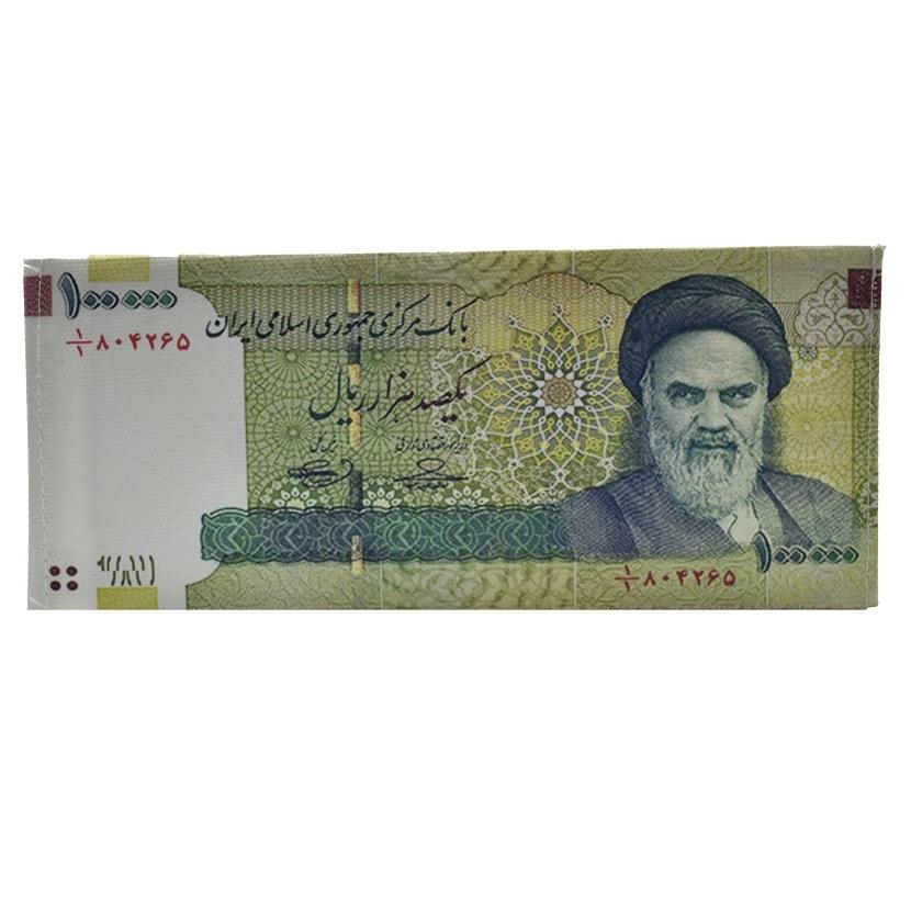 کیف پول مردانه طرح 10 هزار تومانی مدل cmp-5454