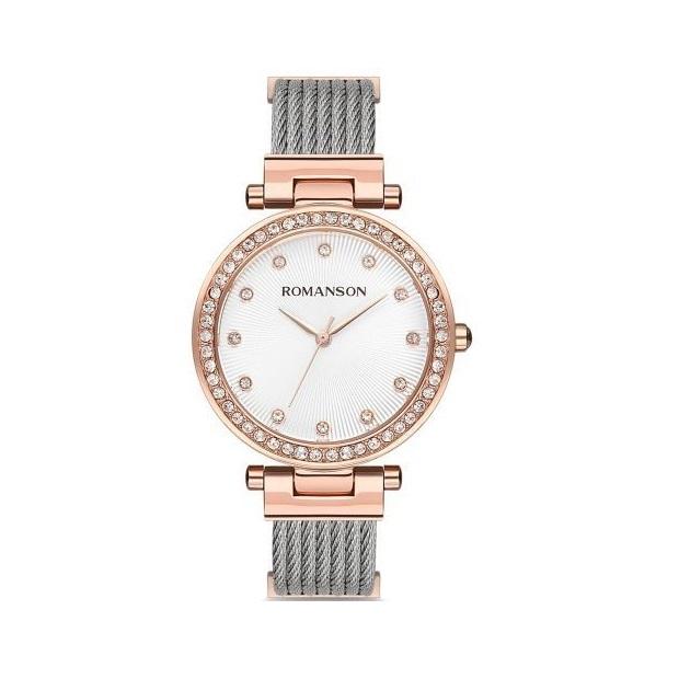 ساعت مچی عقربه ای زنانه رومانسون مدل RM8A31TLRRA16R