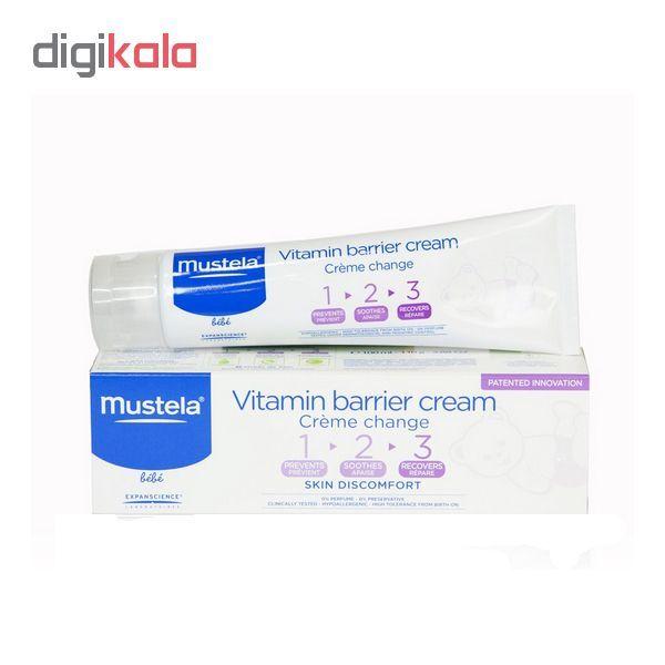کرم سوختگی پای کودک موستلا مدل Vitamin barrier حجم 50 میلی لیتر  main 1 1