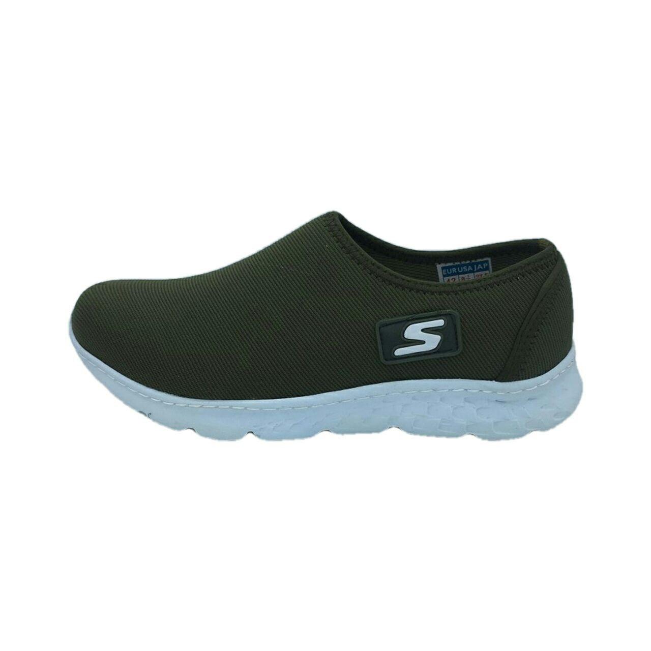 قیمت کفش مخصوص پیاده روی مردانه مدل  z100  رنگ سبز تیره