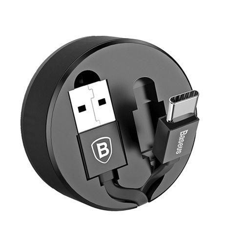 کابل تبدیل USB به USB-C باسئوس مدل CALEP-C01 طول 0.9 متر