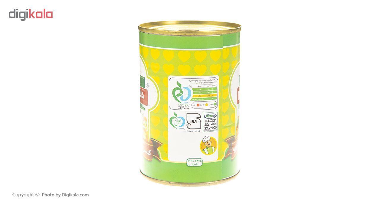 کنسرو سبزیجات مخلوط دلپذیر - 420 گرم main 1 2