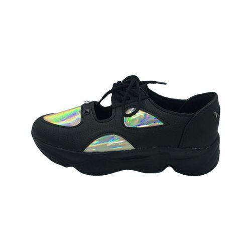 کفش روزمره زنانه  مدل PF 115رنگ مشکی