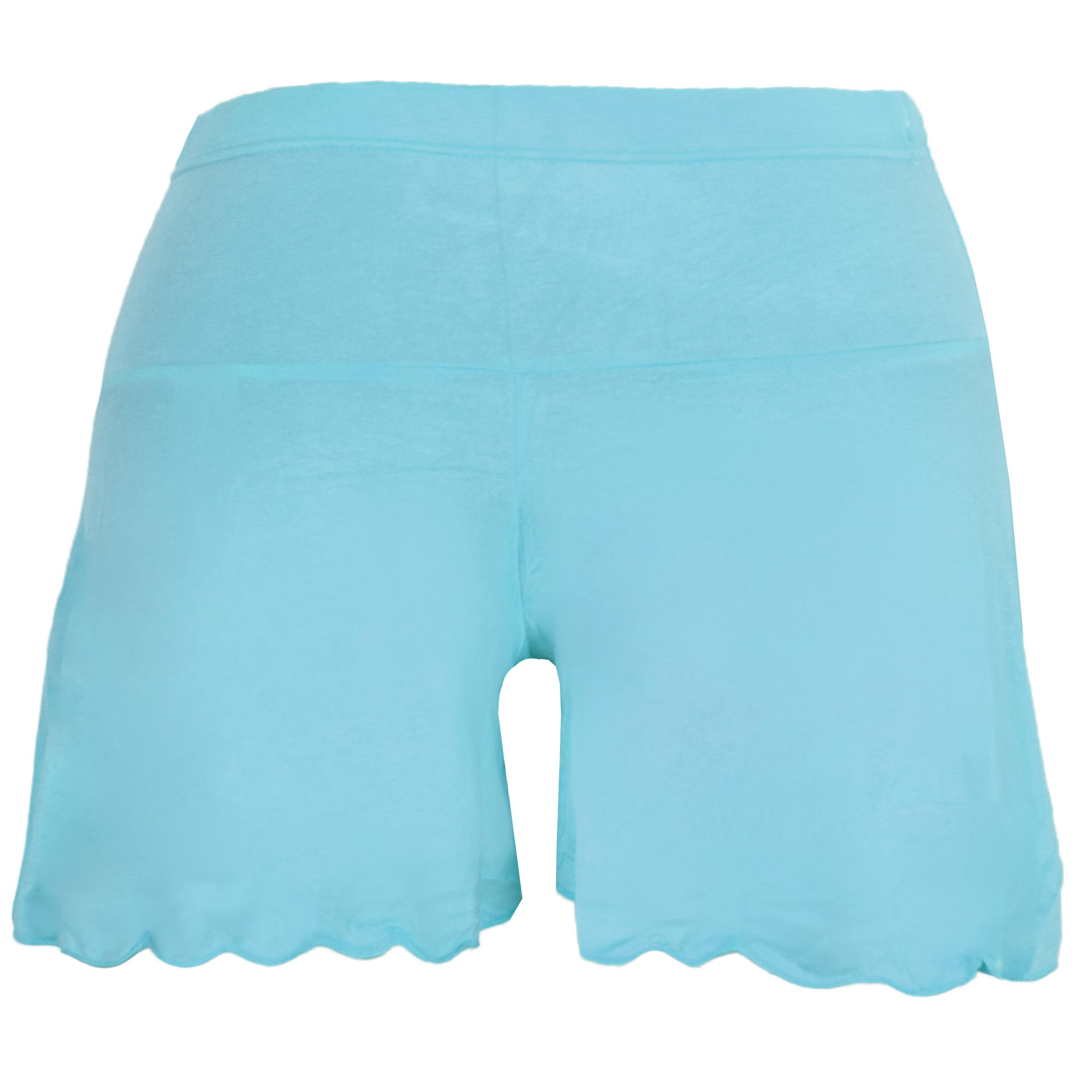 دامن شلوارک بارداری کد A023 رنگ آبی