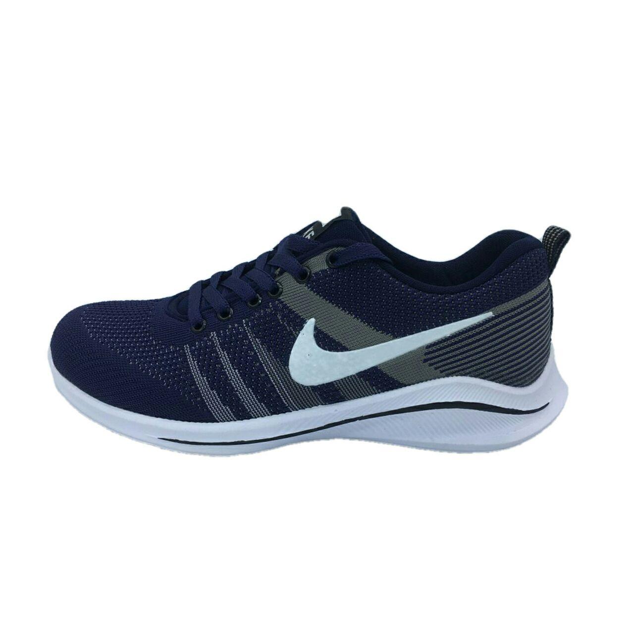 کفش مخصوص پیاده روی مردانه مدل  n101  رنگ سرمه ای