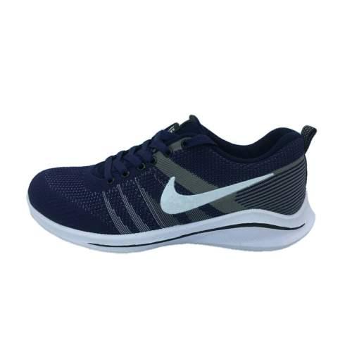 کفش مخصوص پیاده روی مردانه مدل  n101  رنگ سرمه ای غیر اصل