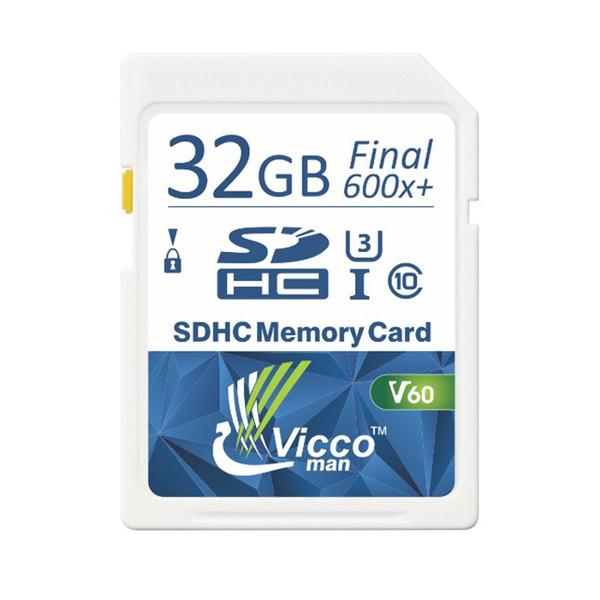 کارت حافظه SDHC ویکومن مدل Extra 600X کلاس 10استاندارد UHS-I سرعت 90MB/S ظرفیت 32 گیگابایت