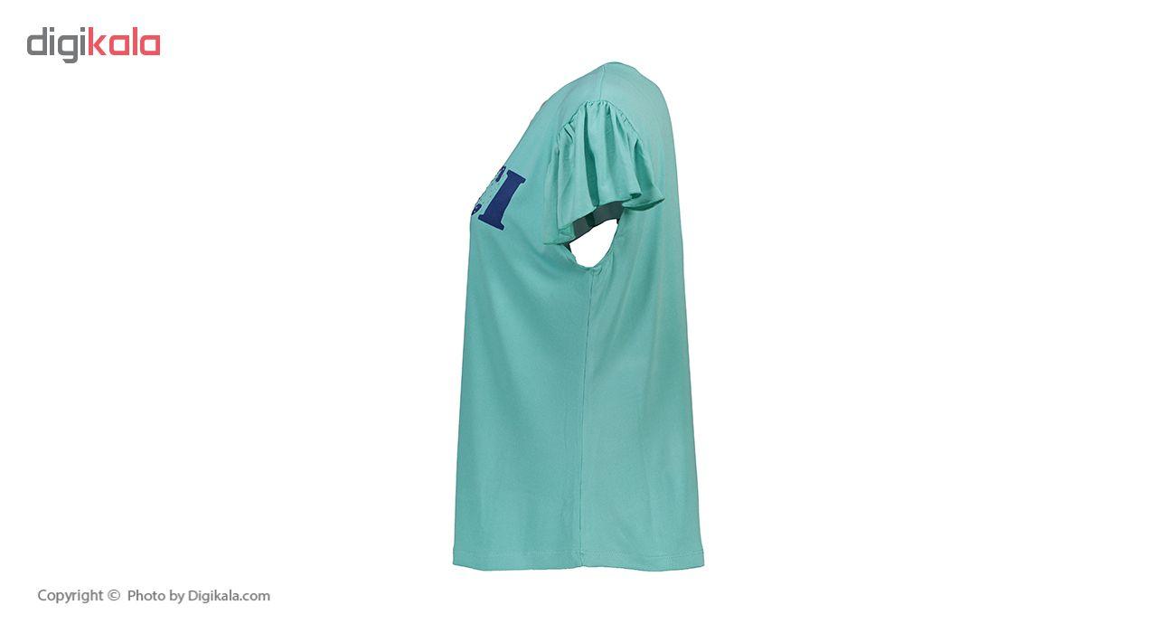 خرید                                      ست تی شرت و شلوارک زنانه جام تین کد 3243 JAM G                     غیر اصل