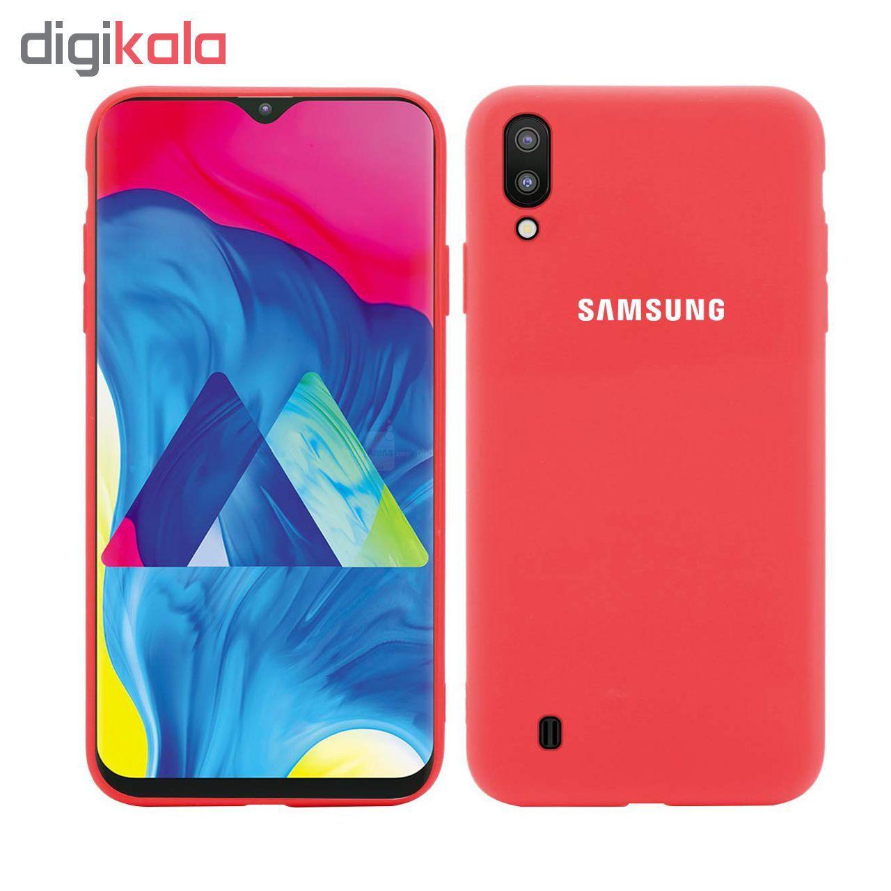 کاور سیلیکونی مدل Silky soft-touch مناسب برای گوشی موبایل سامسونگ Galaxy M10   main 1 2