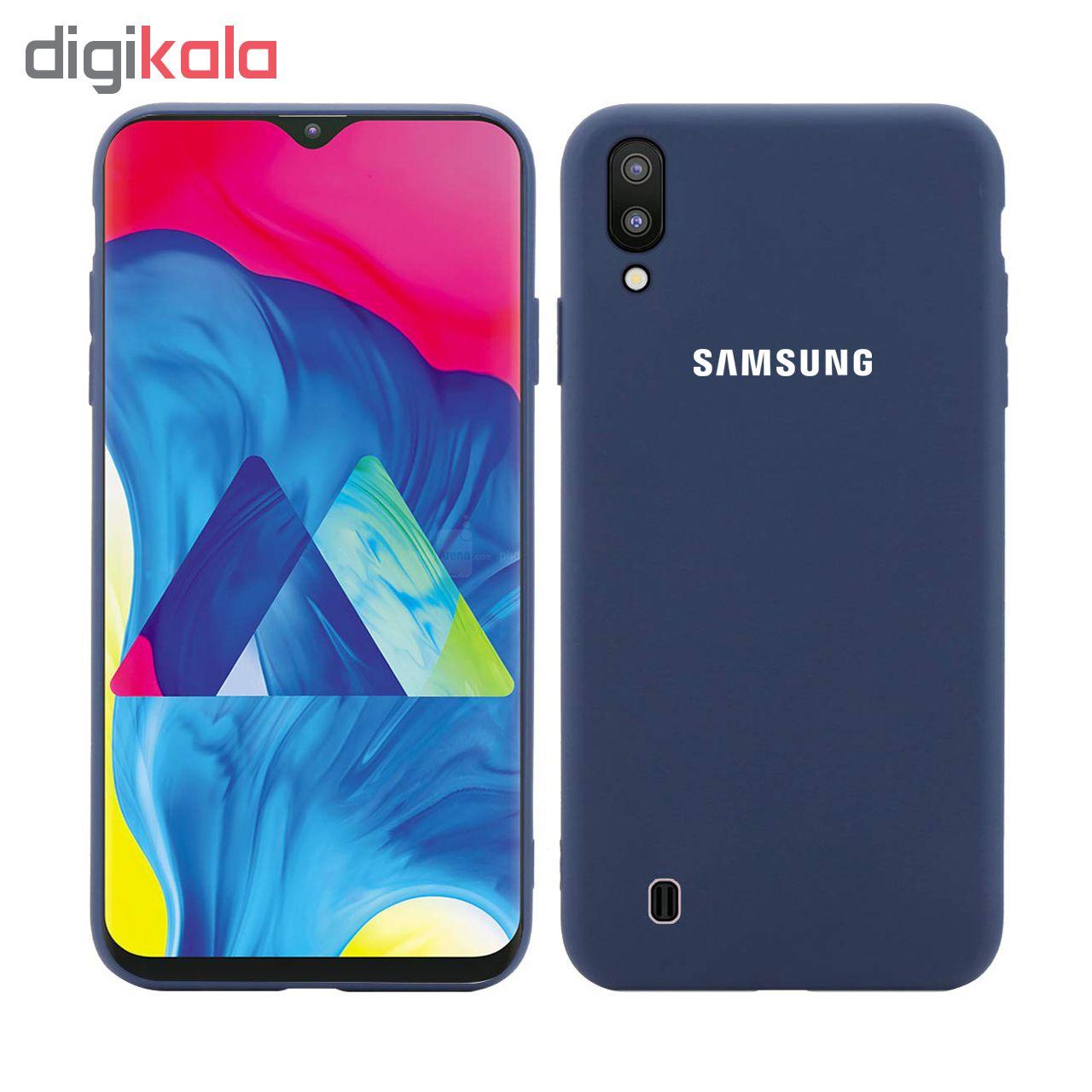 کاور سیلیکونی مدل Silky soft-touch مناسب برای گوشی موبایل سامسونگ Galaxy M10   main 1 4