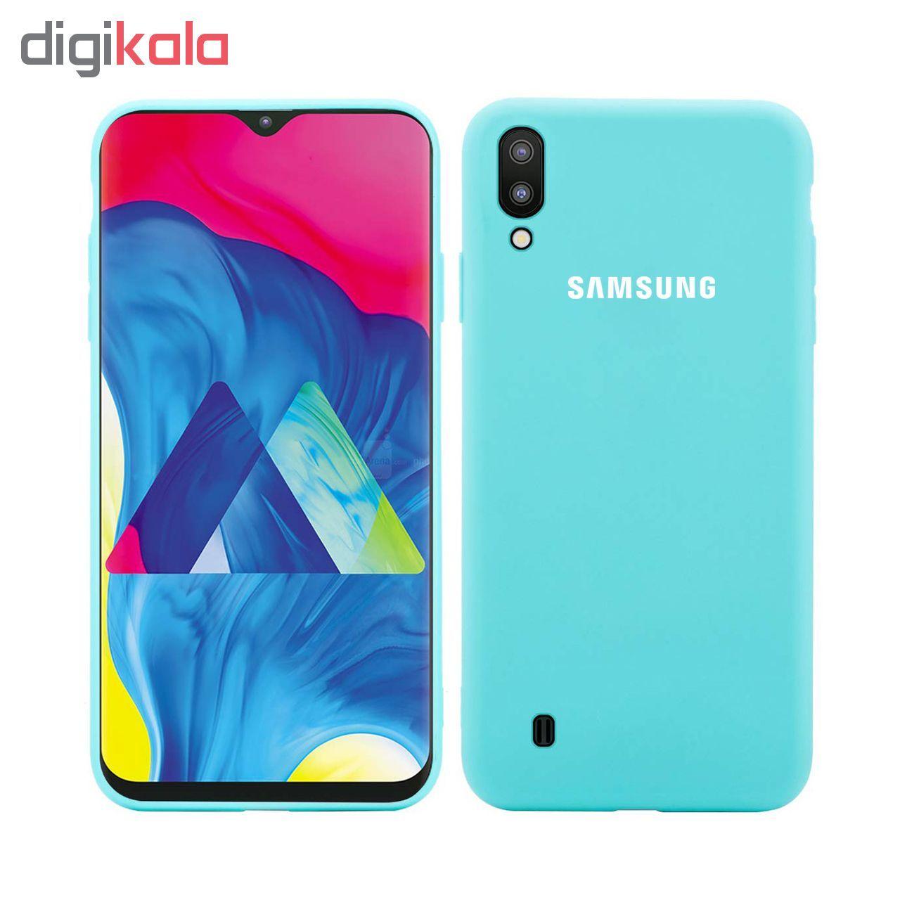 کاور سیلیکونی مدل Silky soft-touch مناسب برای گوشی موبایل سامسونگ Galaxy M10   main 1 5