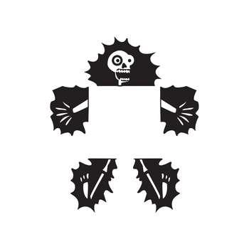 استیکر کلید و پریز مدل Fun کد ۰۱