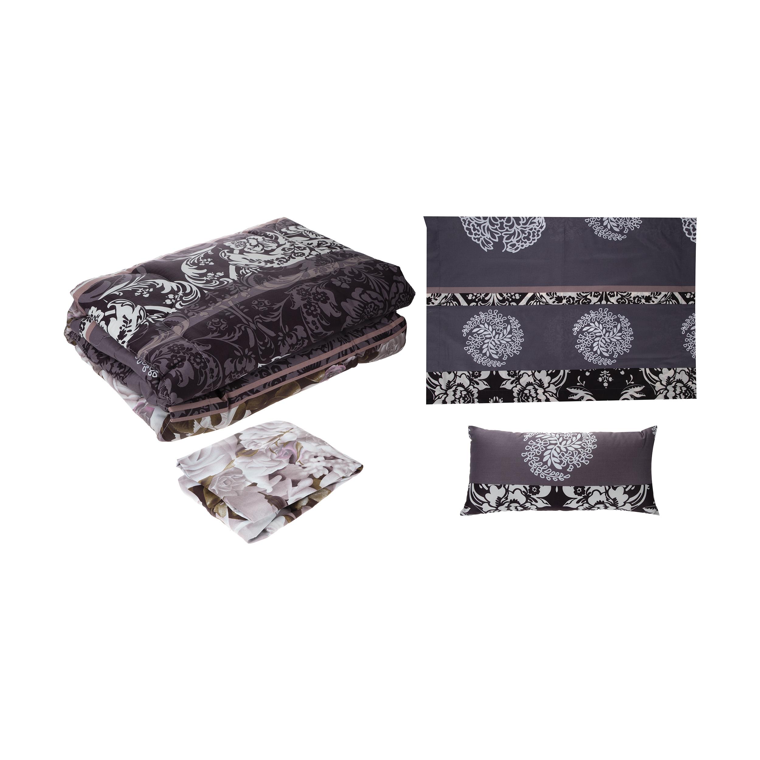 سرویس خواب فرش مریم مدل Termeh یک نفره 4 تکه