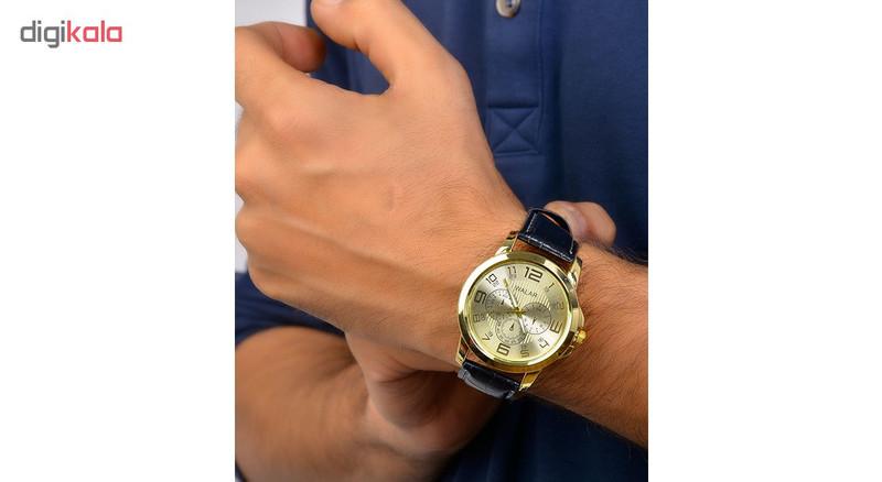 ساعت مچی عقربه ای مردانه والار کد 3w-Brk