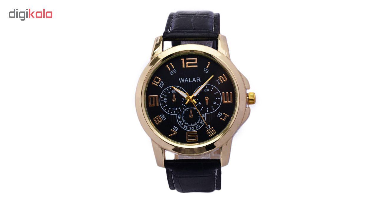 خرید ساعت مچی عقربه ای مردانه والار کد 3w-Bkk