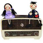 جعبه دستمال کاغذی طرح رادیو کد 2499 thumb