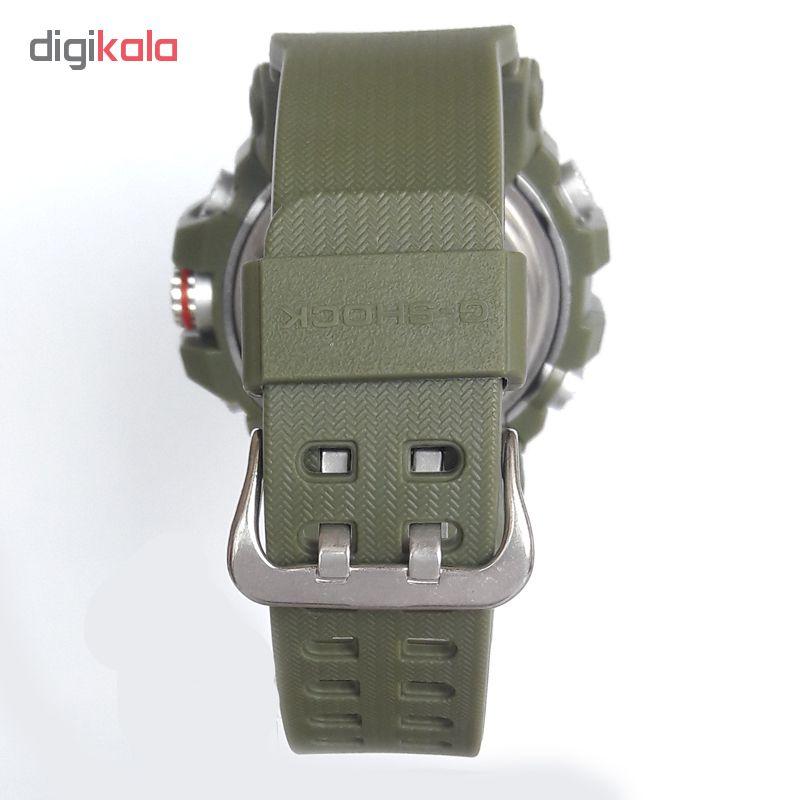 ساعت مچی دیجیتال مردانه مدل G-SH 1199 / SAB به همراه دستمال مخصوص نانو برند کلیر واچ             قیمت