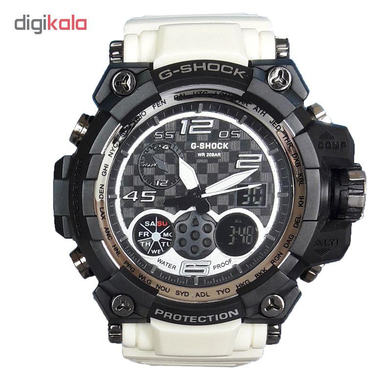 ساعت مچی دیجیتال مردانه مدل G-SH 2233 / SE به همراه دستمال مخصوص نانو برند کلیر واچ