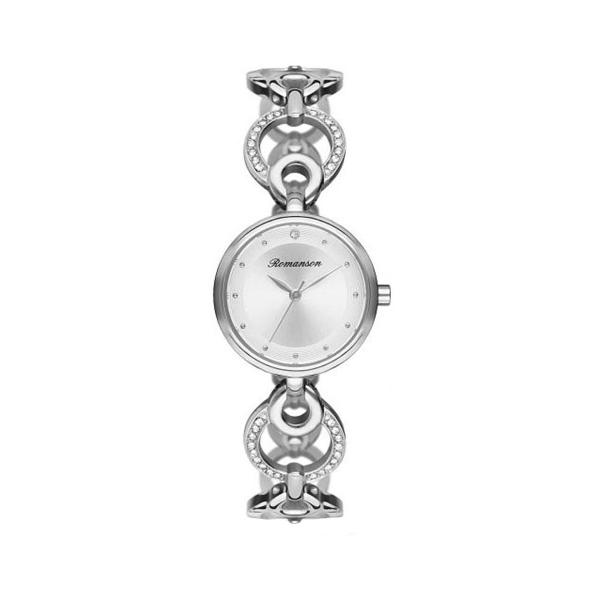 ساعت مچی عقربه ای زنانه رومانسون مدل RM8A32TLWWA12W 45
