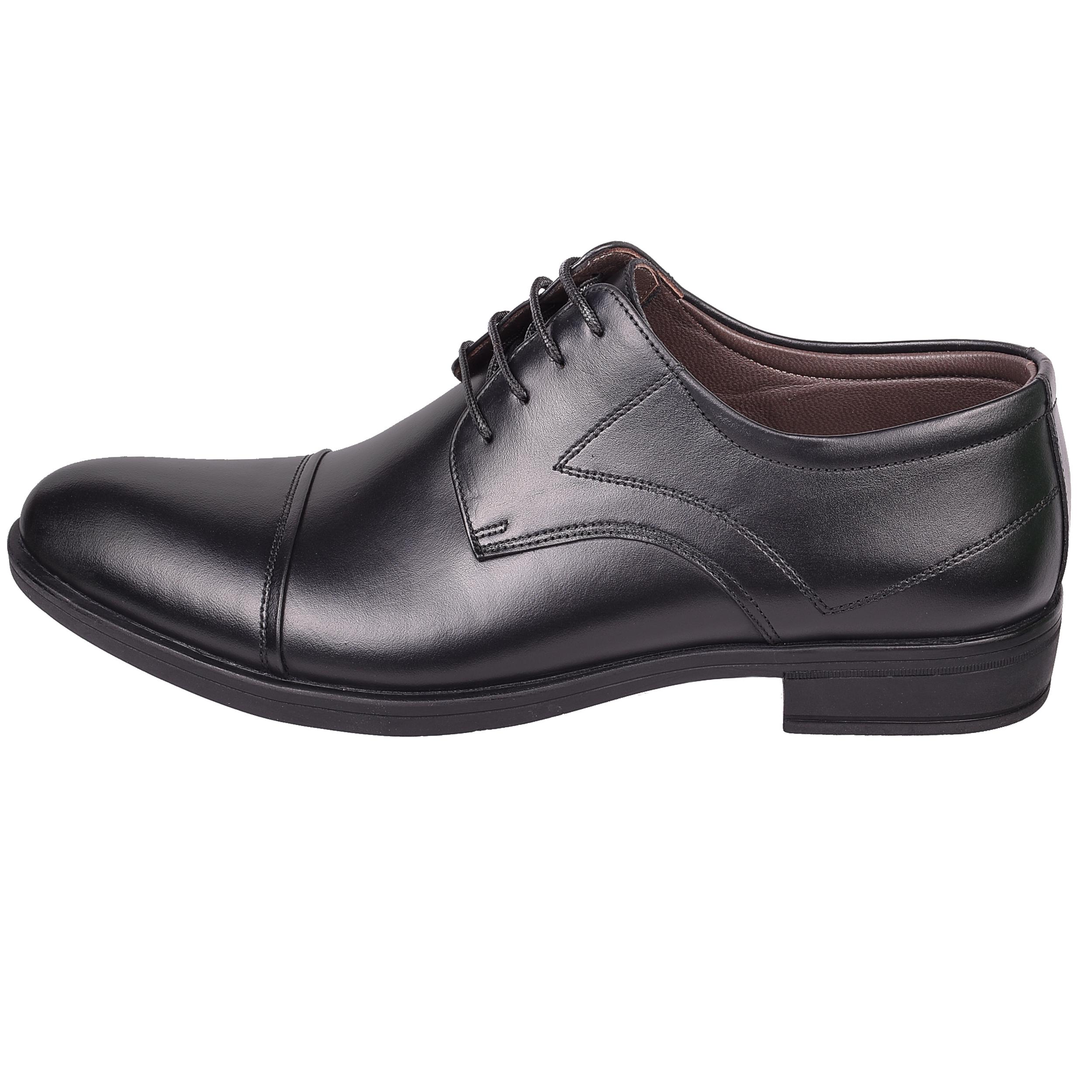 کفش مردانه امگا کد 1613 رنگ مشکی