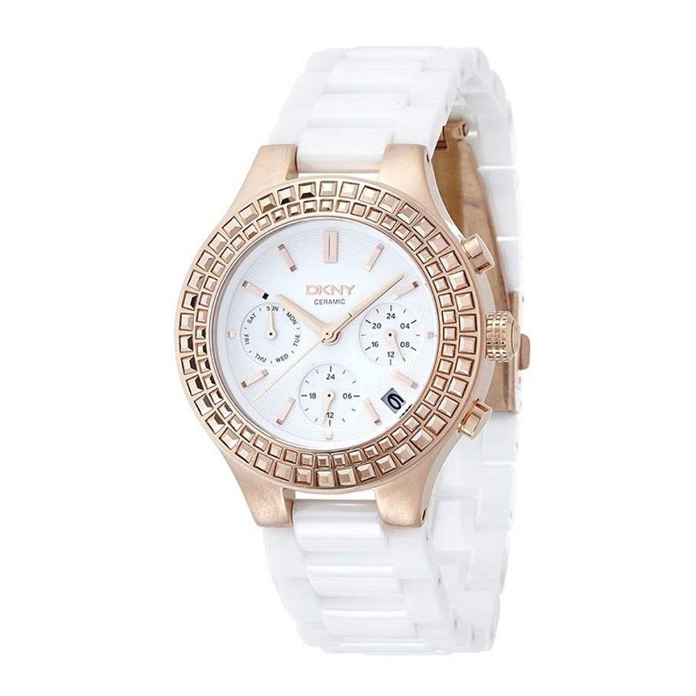 ساعت مچی عقربه ای زنانه دی کی ان وای مدل NY2225
