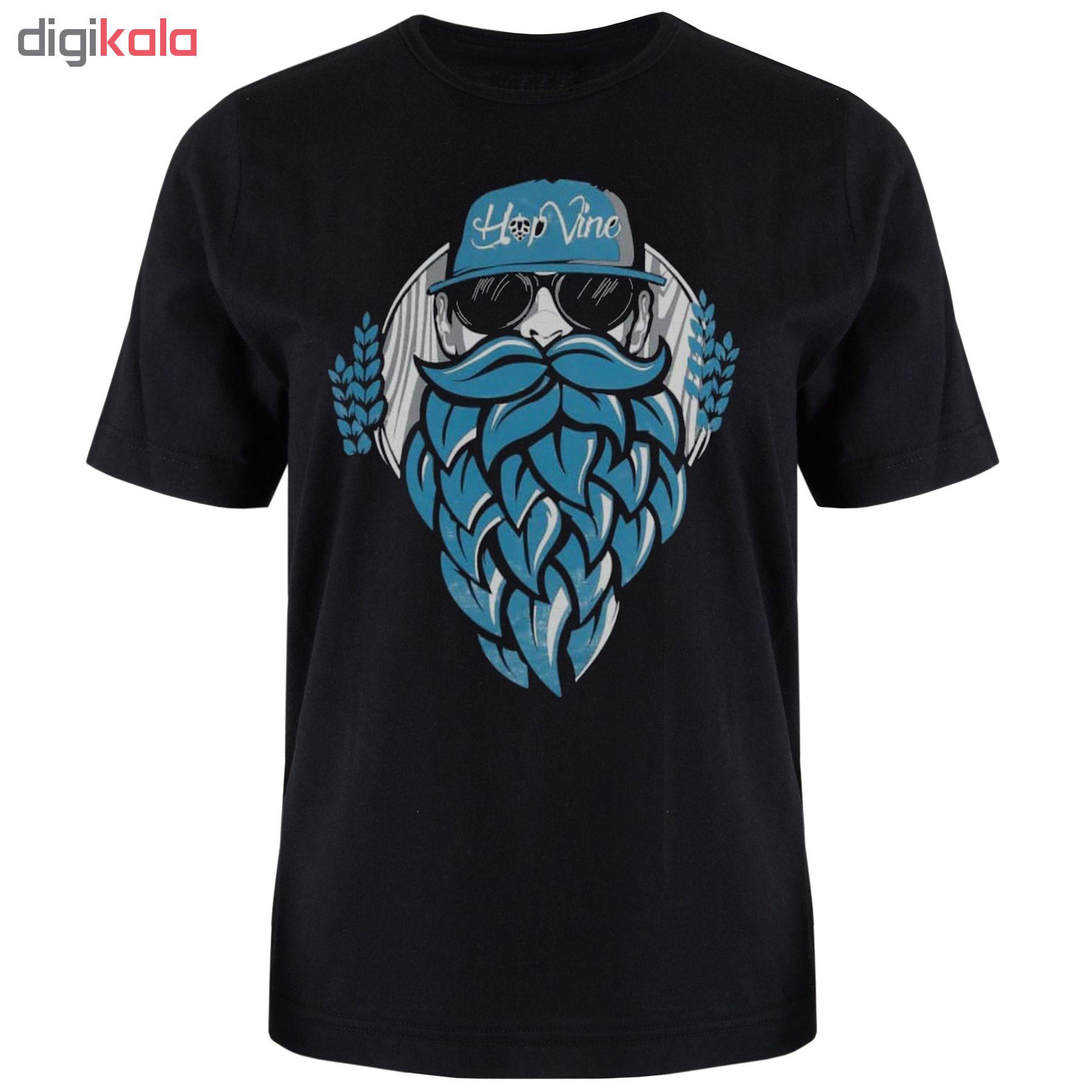تی شرت آستین کوتاه مردانه مدل T2