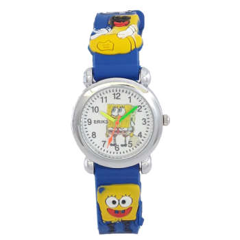 ساعت مچی عقربه ای پسرانه مدل BAB 1101 /AB-TE به همراه دستمال مخصوص نانو برند کلیر واچ