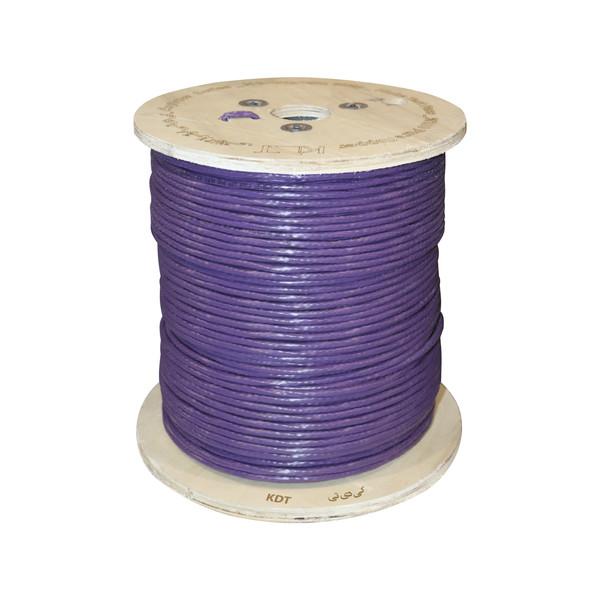 کابل شبکه Cat 6 UTP کی دی تی مدل A6U طول 500 متر