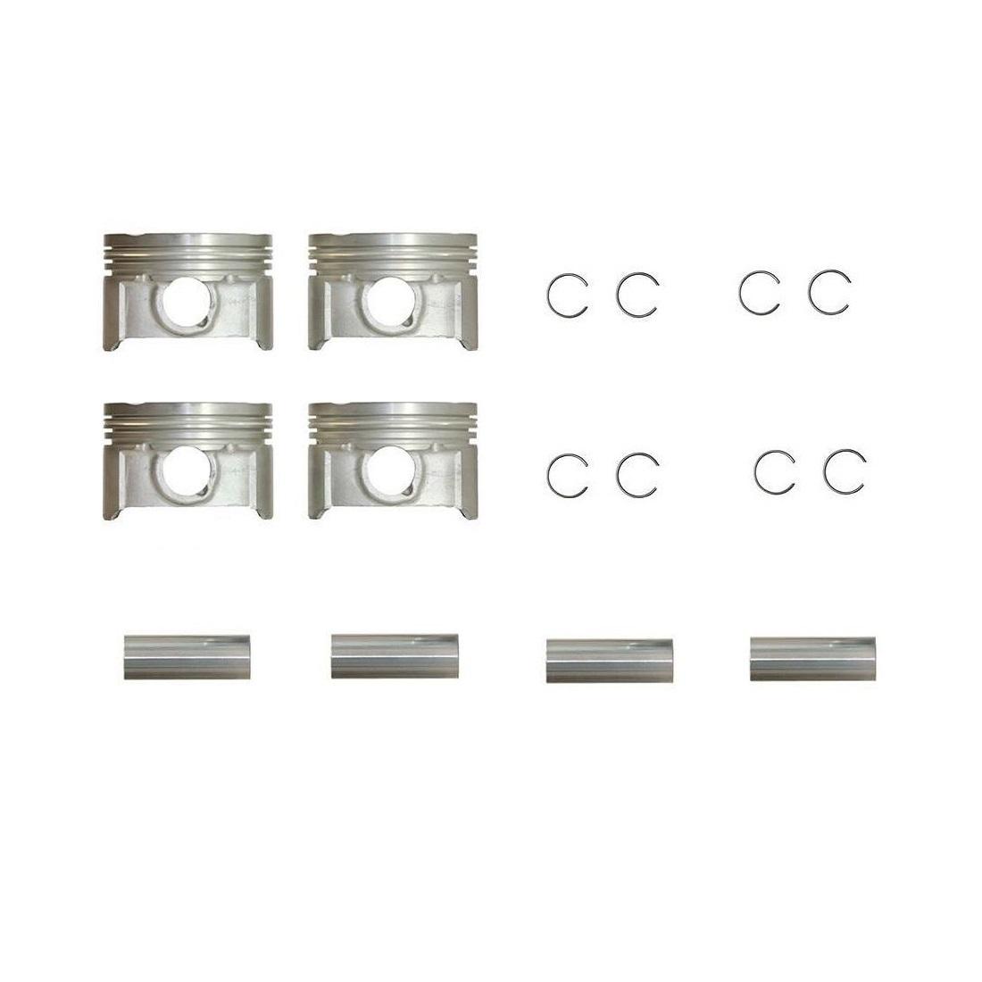 پیستون و گژن پین و خار کارتک مدل STD مناسب برای سمند EF7