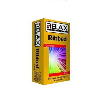 کاندوم ریلکس مدل RIBBED کد R36 بسته 12 عددی